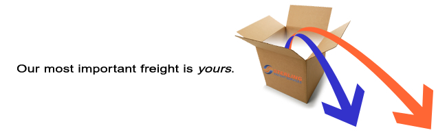 Out Most Important Freight Is Yours