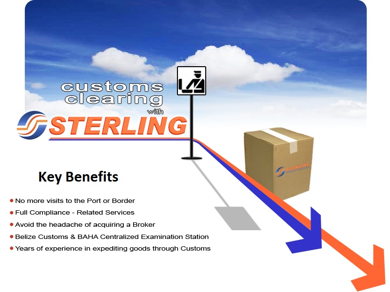 Customs Clearing with Sterling